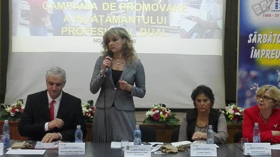 Informare de presă-Campania de promovare a învățământului profesional dual in Prahova