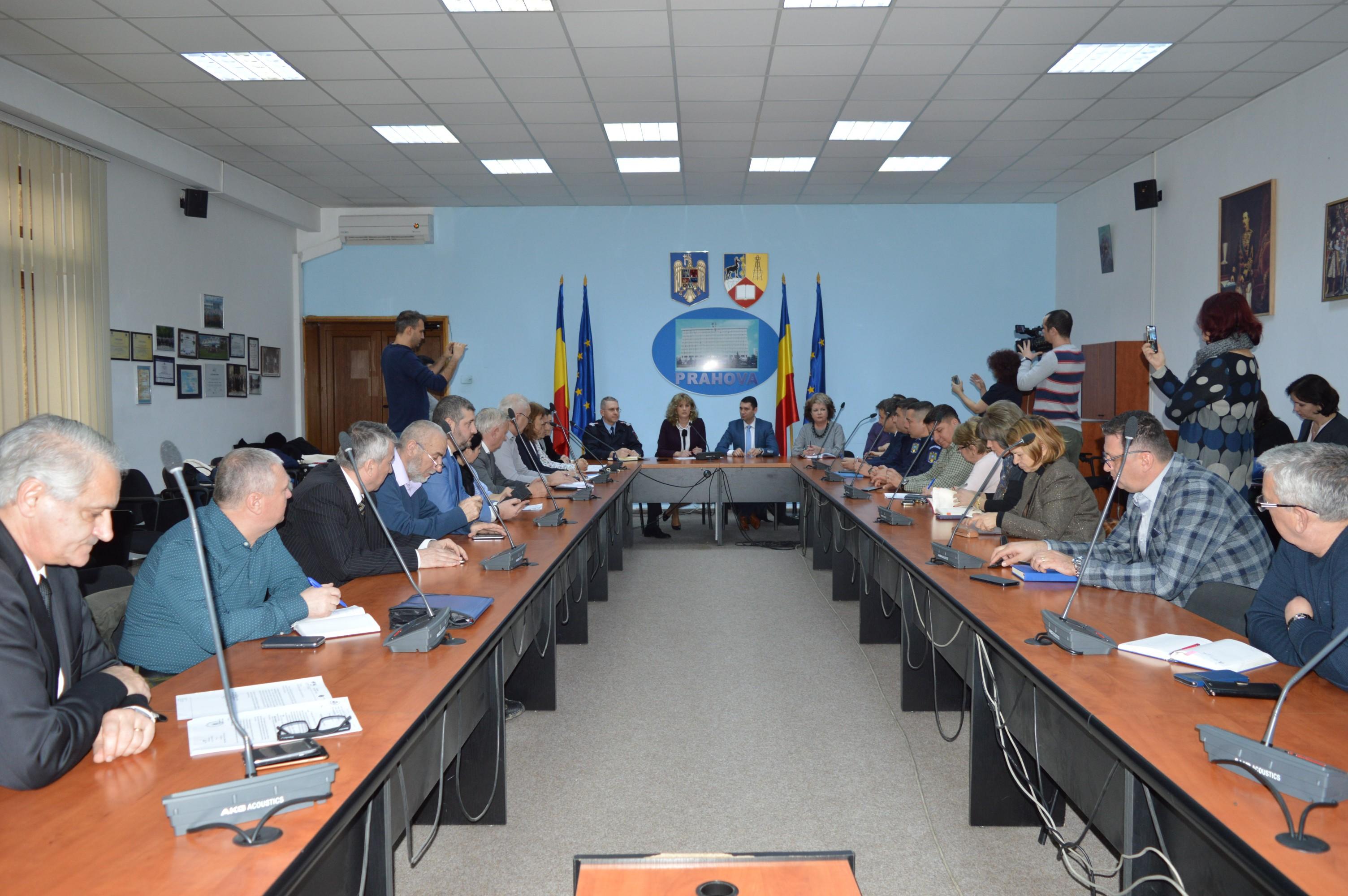 Ședință extraordinară a CJSU Prahova pentru măsuri epidemie de gripă