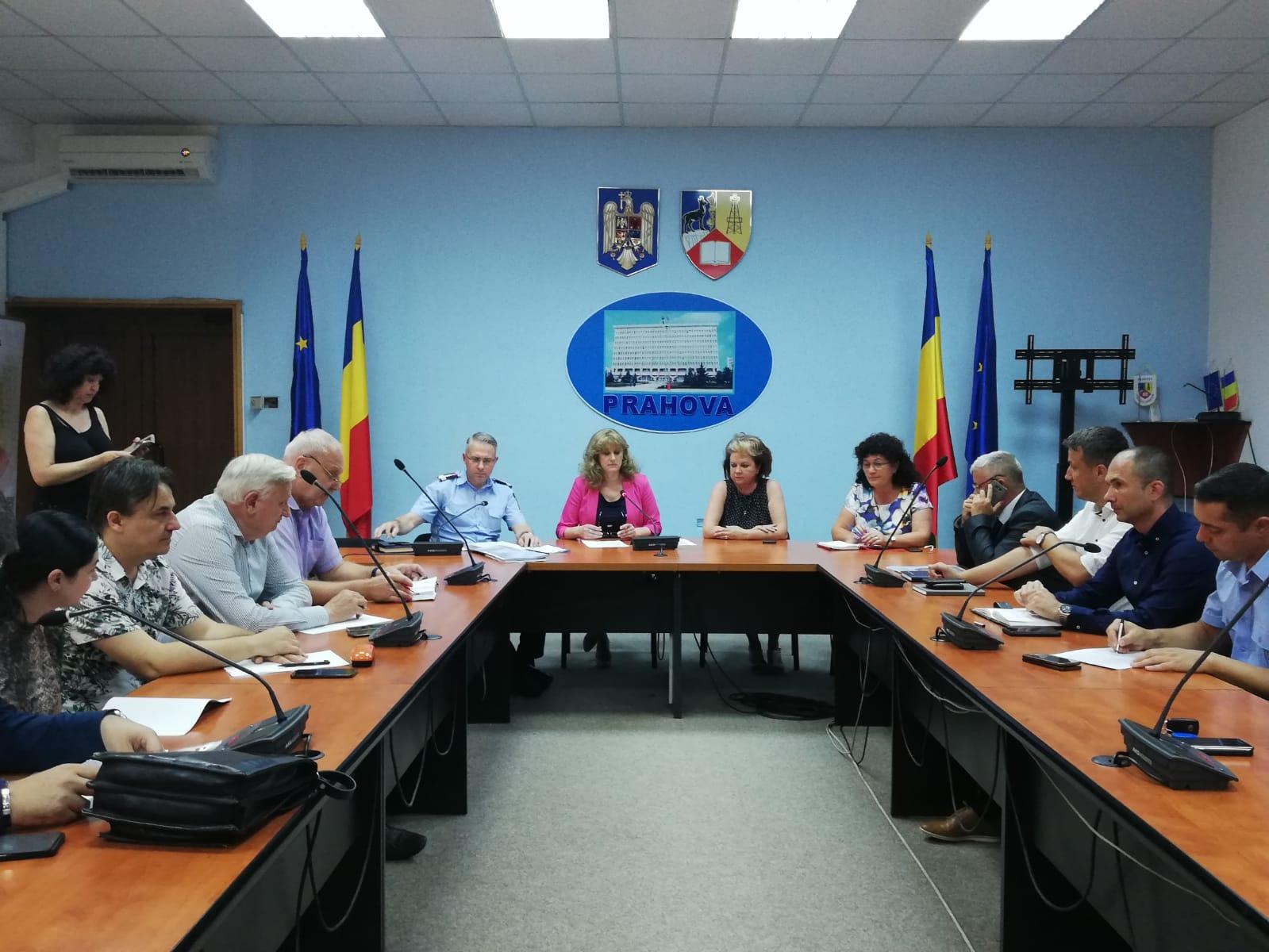 Comunicat de presă-Ședință ordinară a CJSU Prahova pentru un nou proiect de hotărâre de guvern